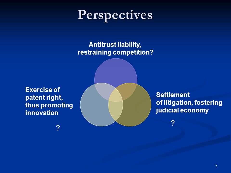 8 Applicable Antitrust rules Section 1 of Sherman Act, 15 U.S.C.