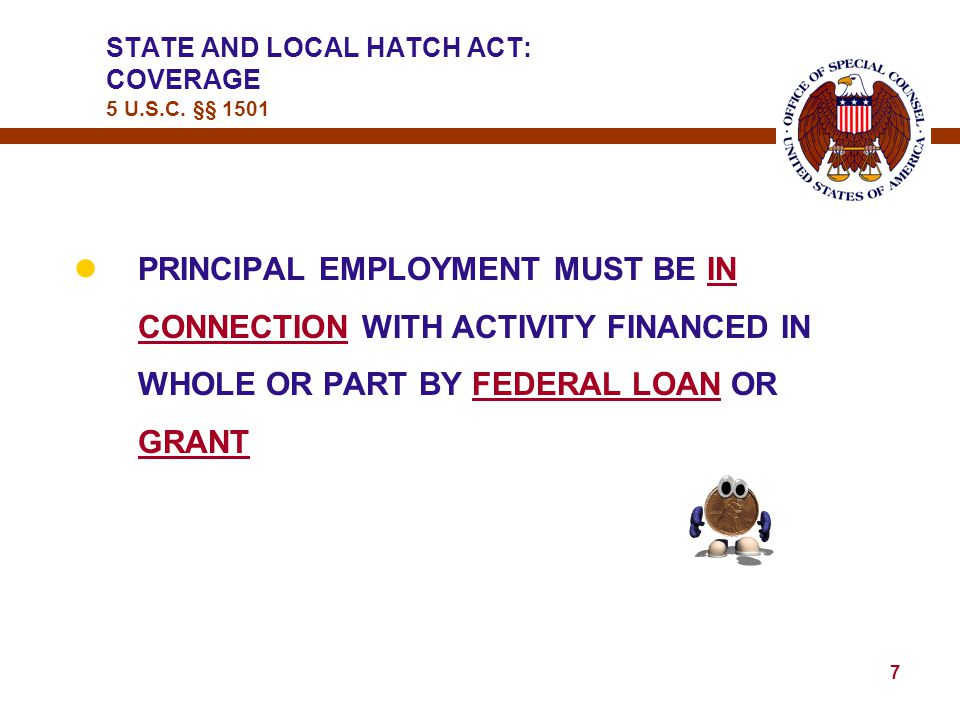 6 lMUST BE THE INDIVIDUAL'S PRINCIPAL EMPLOYMENT  ONLY AN ISSUE WHEN THE INDIVIDUAL HAS 2 OR MORE JOBS  KEY FACTORS TO CONSIDER: (1) AMOUNT OF HOURS WORKED (2) SALARY AMOUNT  WHERE IS THE INDIVIDUAL DURING NORMAL BUSINESS HOURS