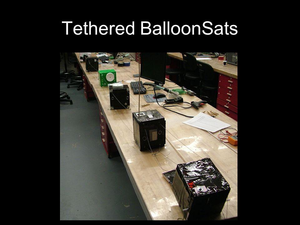 Tethered BalloonSats