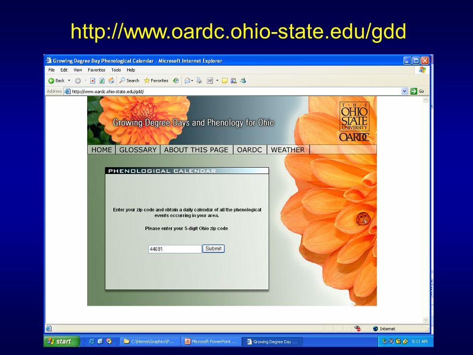 http://www.oardc.ohio-state.edu/gdd