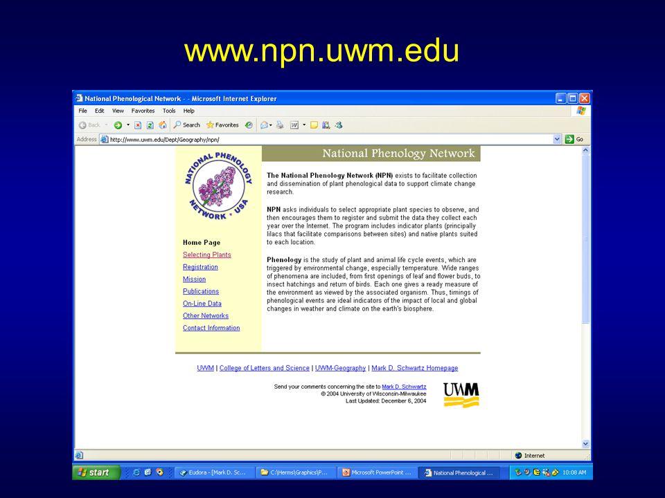 www.npn.uwm.edu
