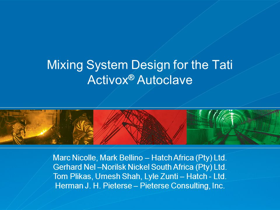 Drop in Metal Recovery – Theoretical CSTR Evaluation 105 min Inflection point Introduction Autoclave Design Review Design Modification Evaluation Final Agitator Design Conclusions