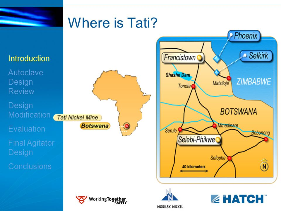 Where is Tati? Introduction Autoclave Design Review Design Modification Evaluation Final Agitator Design Conclusions