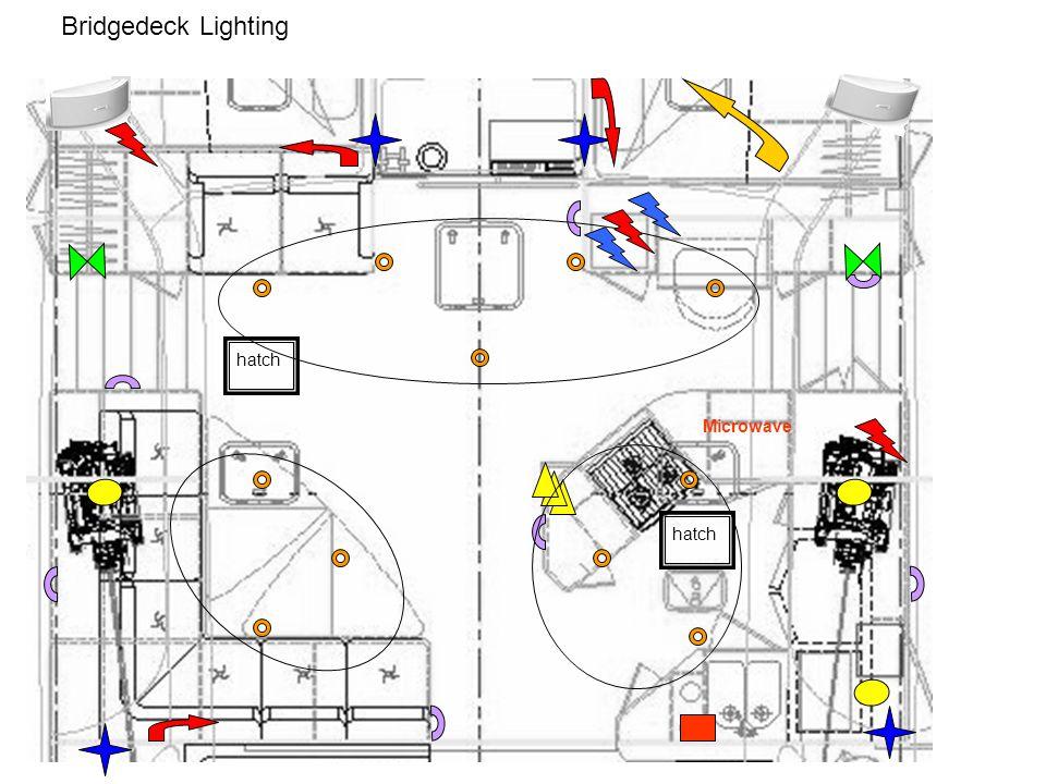 Bridgedeck Lighting hatch Microwave