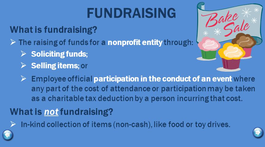 FUNDRAISING What is fundraising.