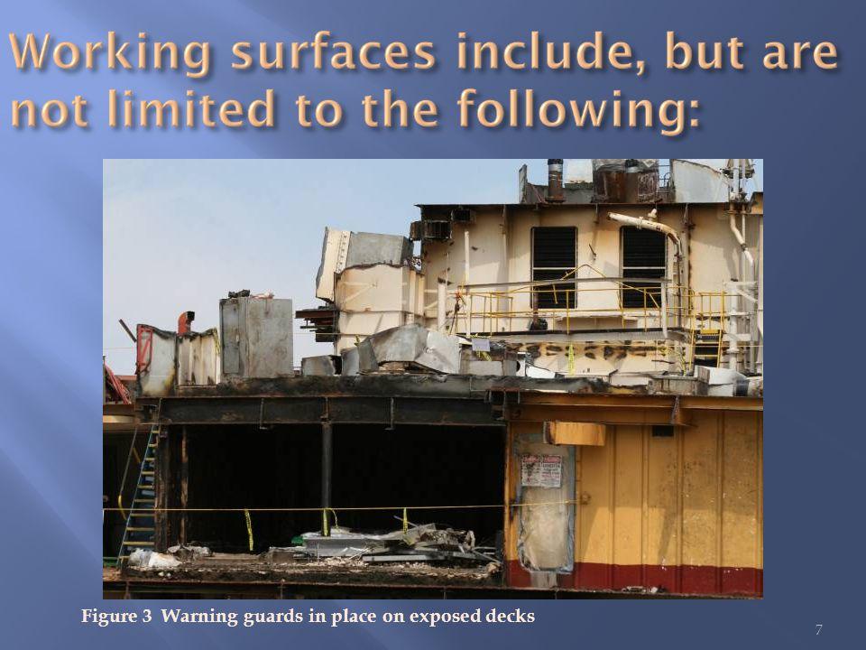8 Figure 4 Multiple decks and severe corrosion