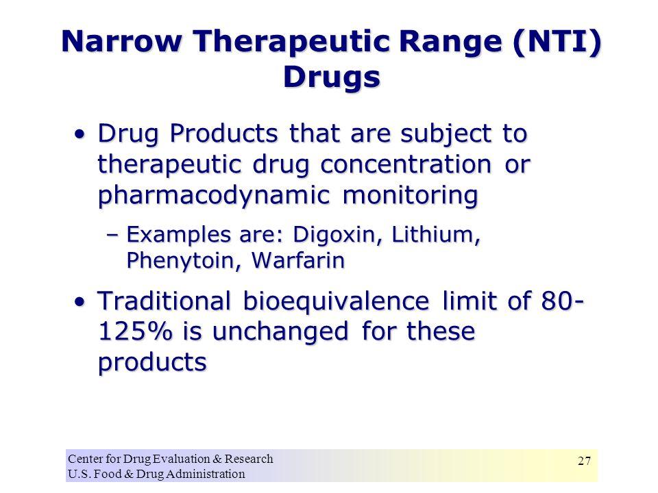Center for Drug Evaluation & Research U.S.