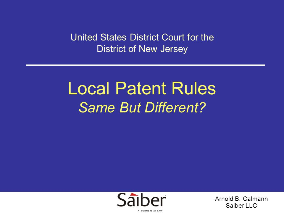 12 Overview (cont'd) General Provisions Rule 2.1(a) – Initial Scheduling Conference –Parties to meet and confer upon a plan that includes any proposed modifications of deadlines, scope and timing of claim construction discovery, format of claim construction hearing, how to educate the Court on the patent(s) at issue, and the need for any DCO.