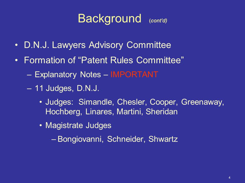 25 Overview (cont'd) Rule 3.6 - Disclosure Requirements in Hatch- Waxman Matters –The most contentious issue for Patent Rules Committee.