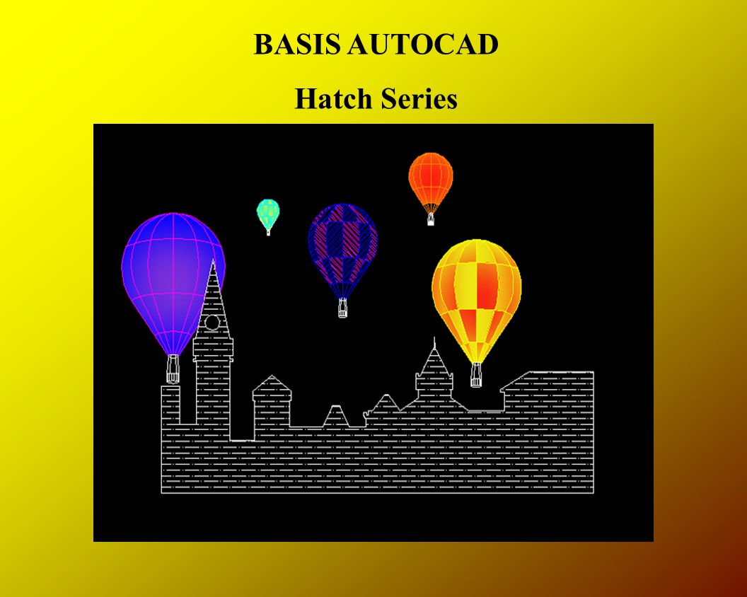 BASIS AUTOCAD Hatch Series