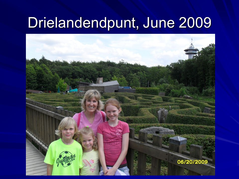 Drielandendpunt, June 2009