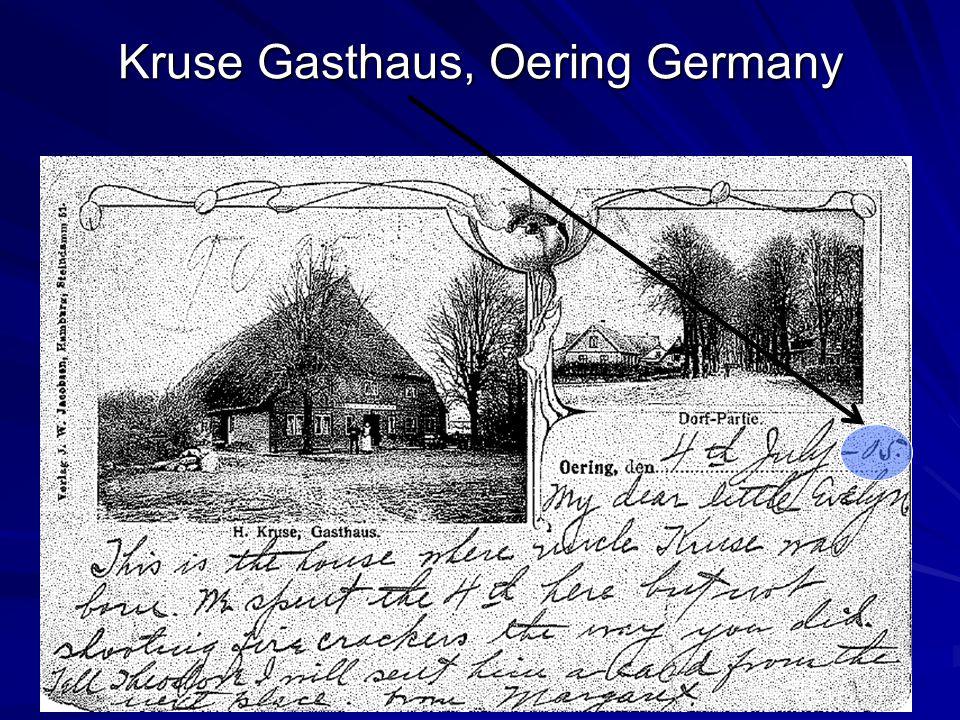 Kruse Gasthaus, Oering Germany
