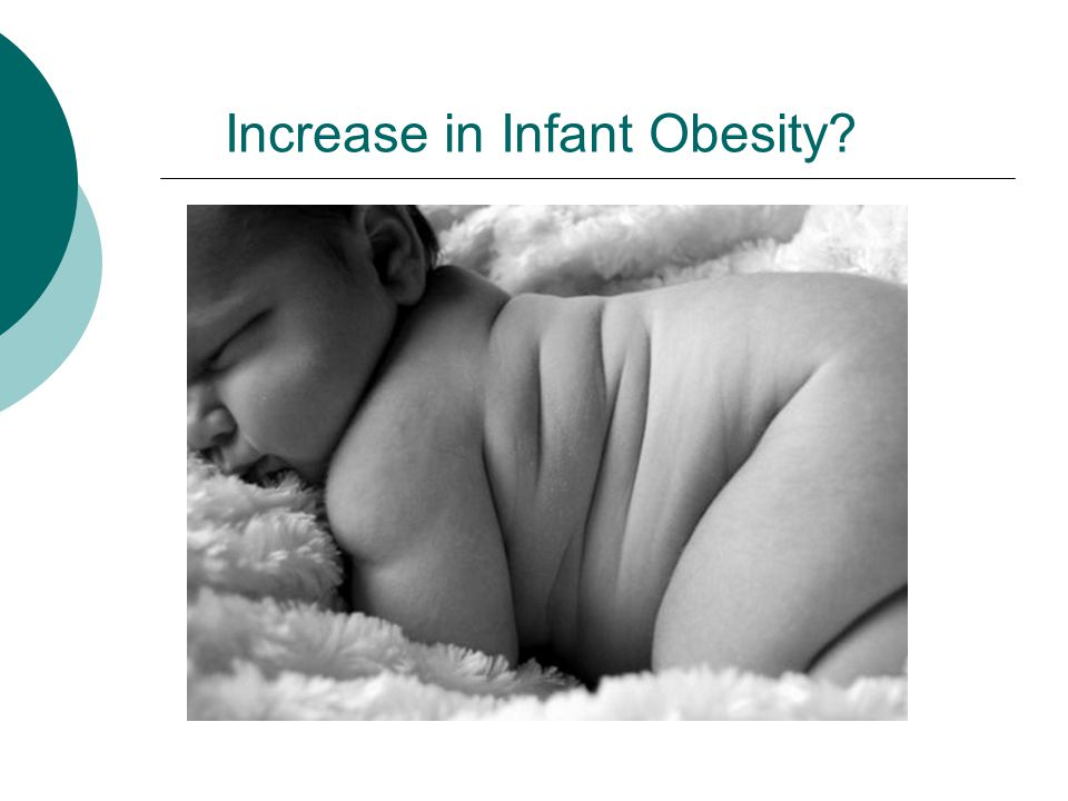 Increase in Infant Obesity?