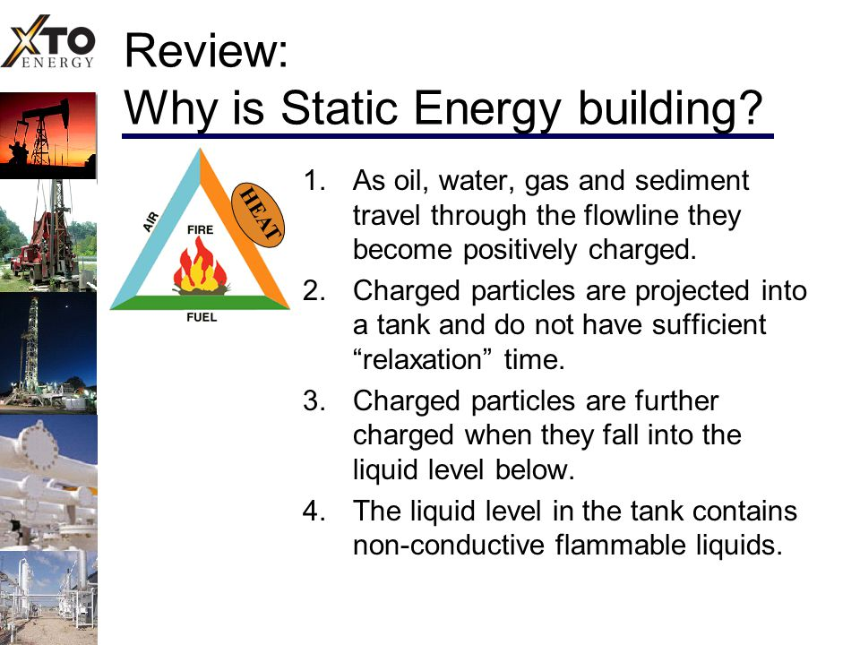 Review: Why is Static Energy building.