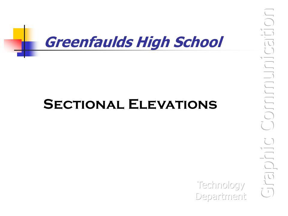 Greenfaulds High School Sectional Elevations