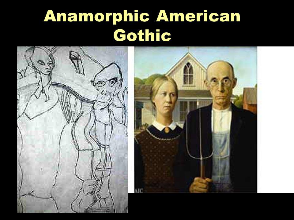 Anamorphic American Gothic