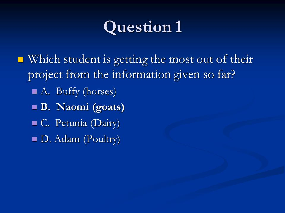 Question 10 What is meant by Responsibility...What is meant by Responsibility...