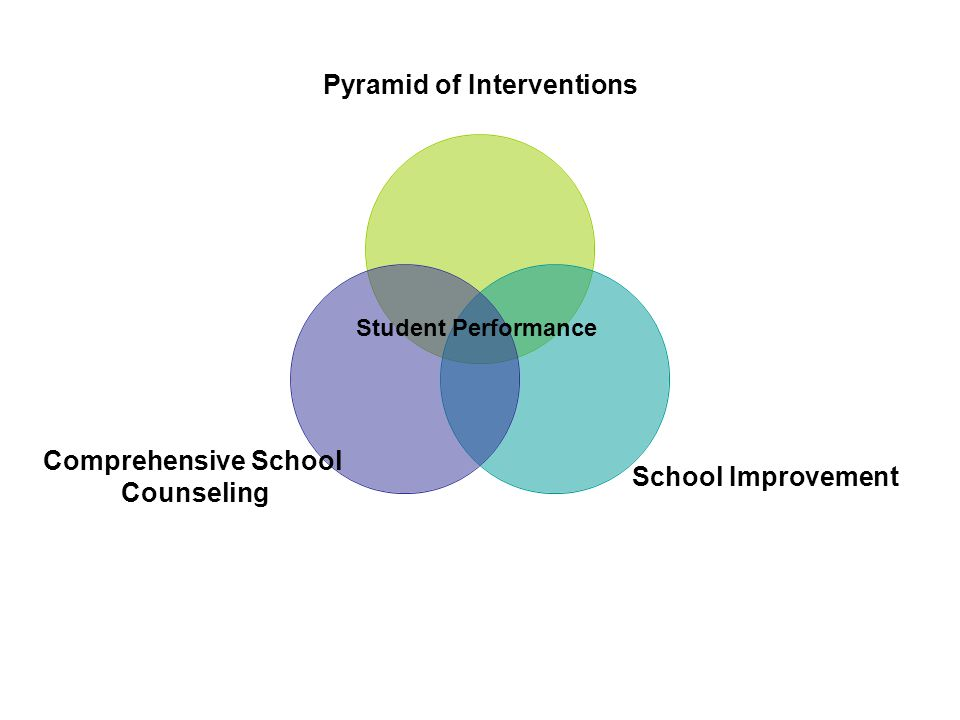 Pyramid of Interventions School Improvement Comprehensive School Counseling Student Performance
