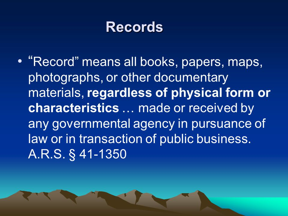 "Records "" Record"" means all books, papers, maps, photographs, or other documentary materials, regardless of physical form or characteristics … made or"