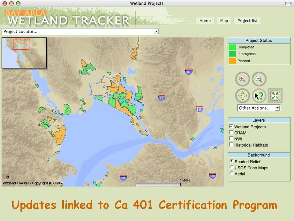 Updates linked to Ca 401 Certification Program
