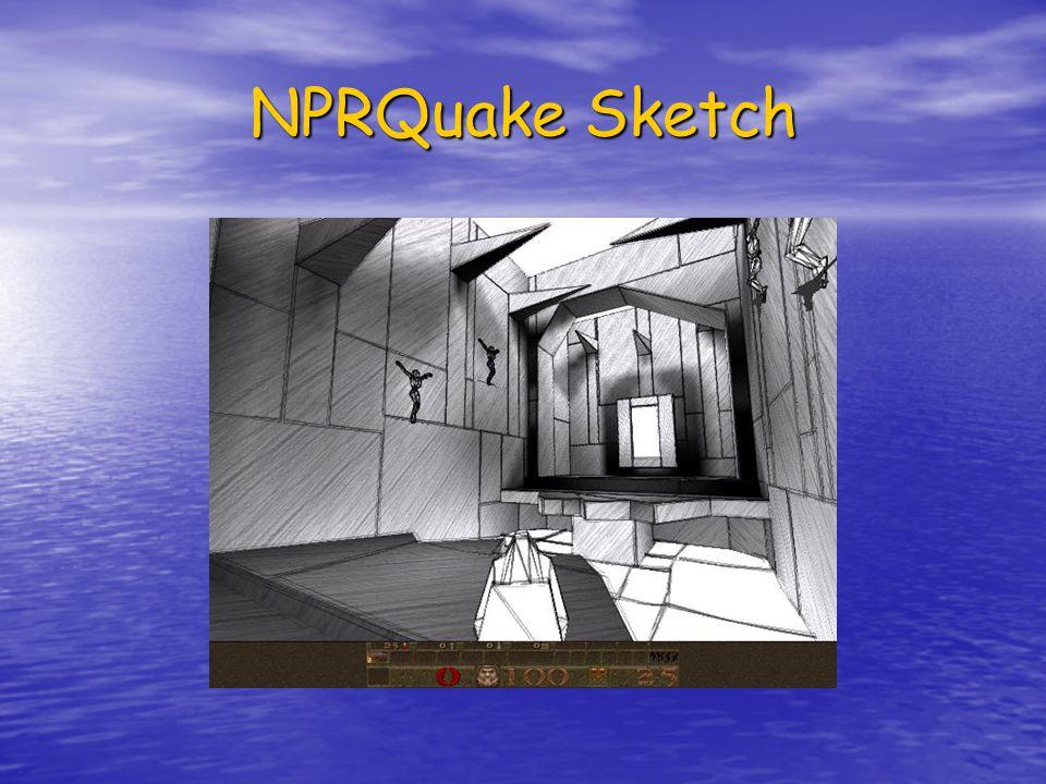 NPRQuake Sketch