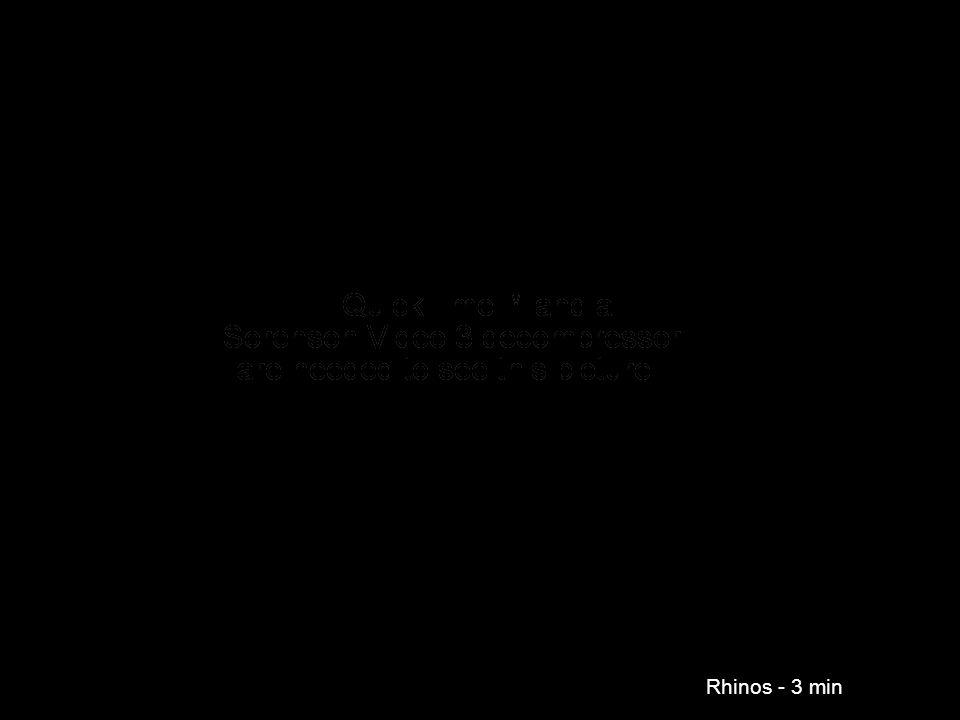 Rhinos - 3 min