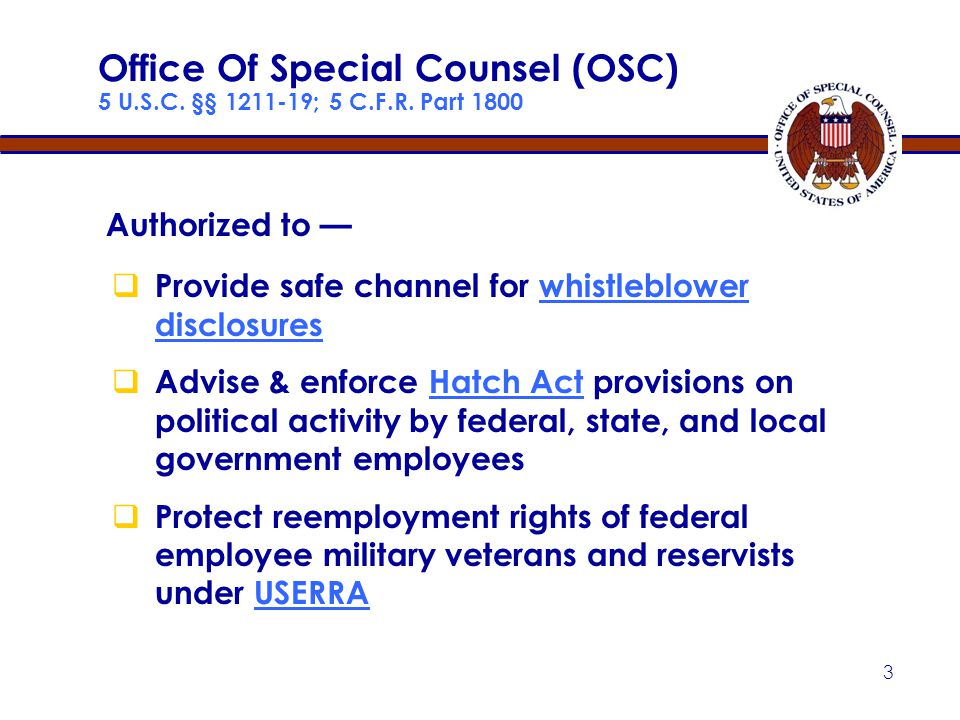 23 Clear and Convincing Evidence (Agency Defense) Agency must show — by clear and convincing evidence — that it would have taken same action without disclosure Factors:  Strength of evidence in support of personnel action  Existence & strength of motive to retaliate  Treatment of similar employees who are not whistleblowers