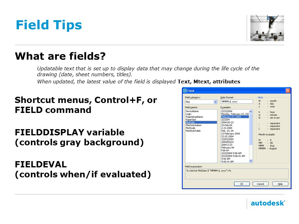 Field Tips What are fields.