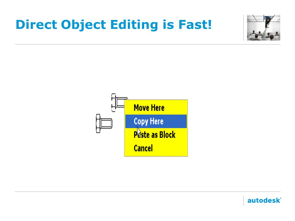 Direct Object Editing is Fast!