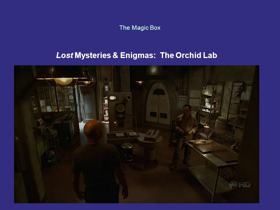 The Magic Box Lost Mysteries & Enigmas: The Orchid Lab