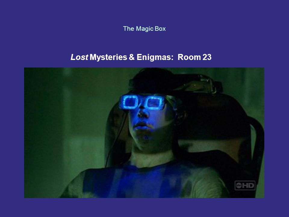 The Magic Box Lost Mysteries & Enigmas: Room 23