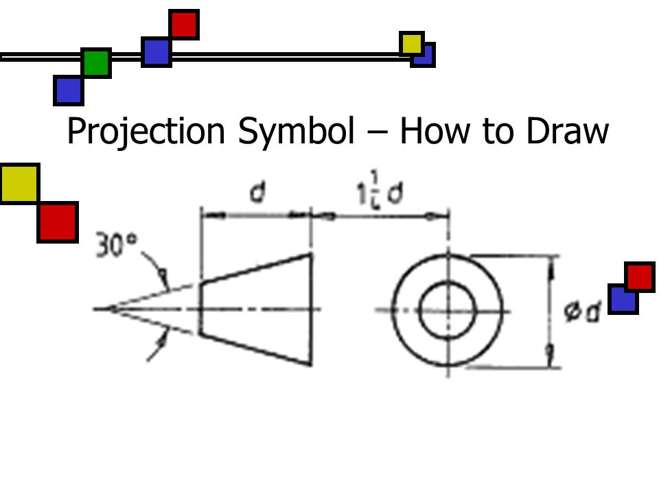 Projection Symbol – How to Draw