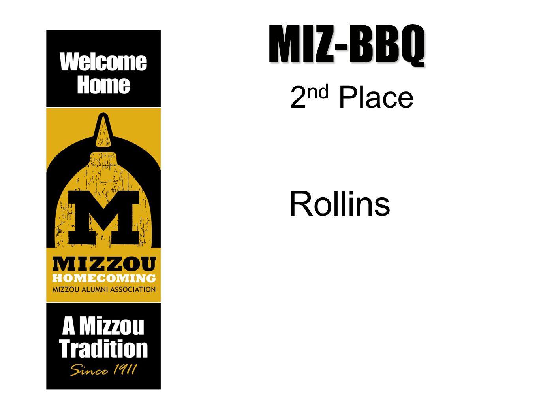 MIZ-BBQ 2 nd Place Rollins