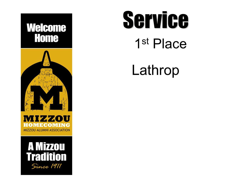 Service 1 st Place Lathrop