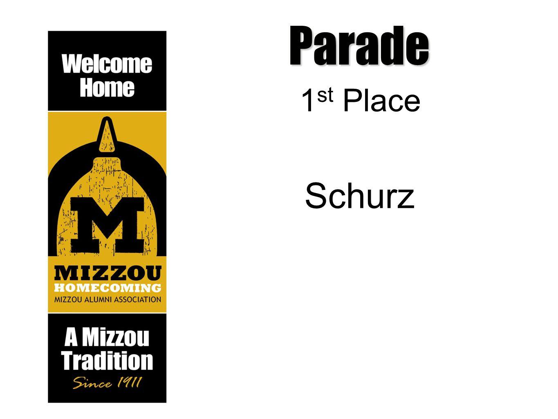 Parade 1 st Place Schurz