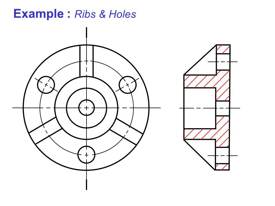 Example : Ribs & Holes