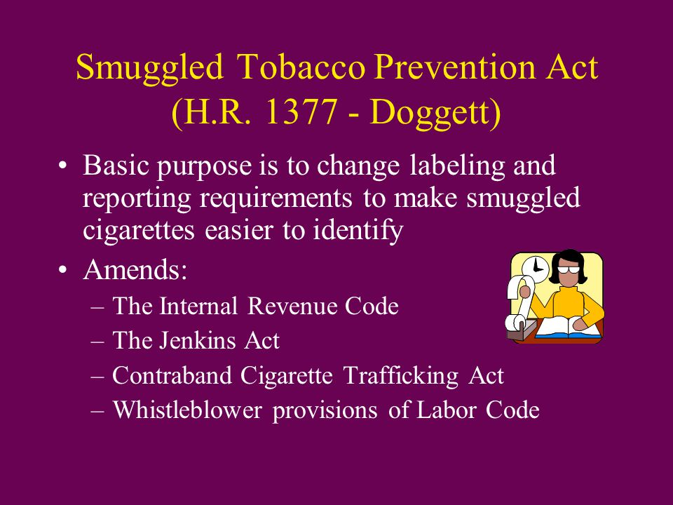 Smuggled Tobacco Prevention Act (H.R.