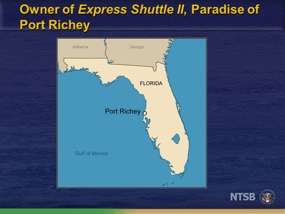 Owner of Express Shuttle II, Paradise of Port Richey