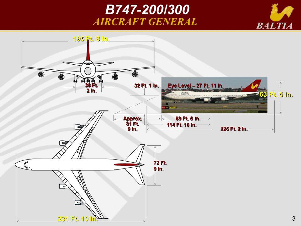 3 231 Ft. 10 In. 72 Ft. 9 In. 195 Ft. 8 In. 36 Ft. 2 In. 89 Ft. 5 In. 114 Ft. 10 In. 225 Ft. 2 In. 63 Ft. 5 In. 32 Ft. 1 In. Eye Level – 27 Ft. 11 In.