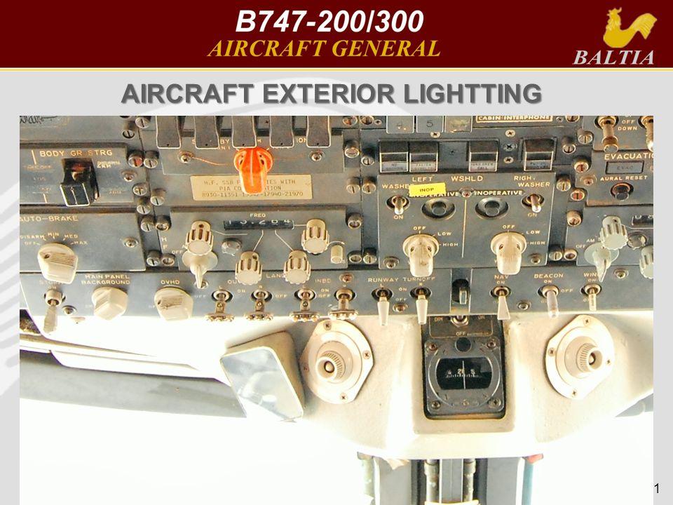51 AIRCRAFT EXTERIOR LIGHTTING