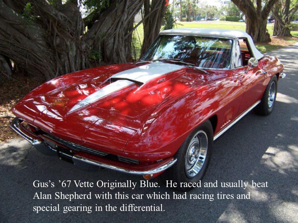 Gus's '67 Vette Originally Blue.