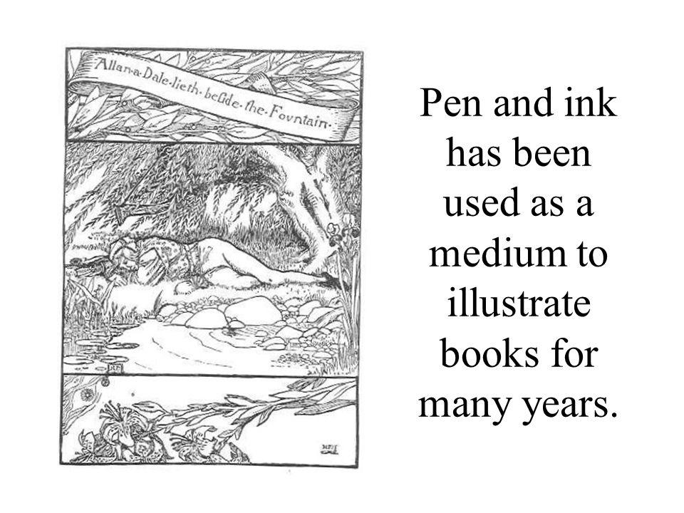 This illustration has areas of light, medium, and dark value.