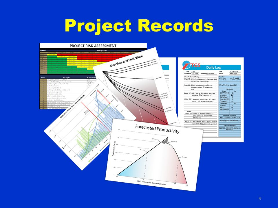 9 Project Records
