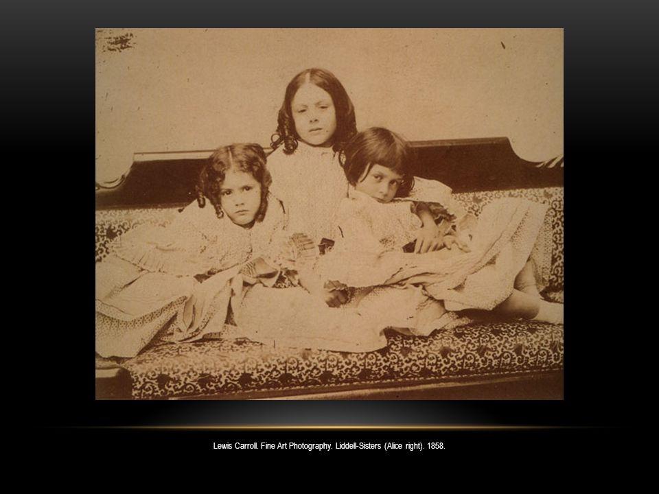 Lewis Carroll.Fine Art Photography. Thomas Combe.