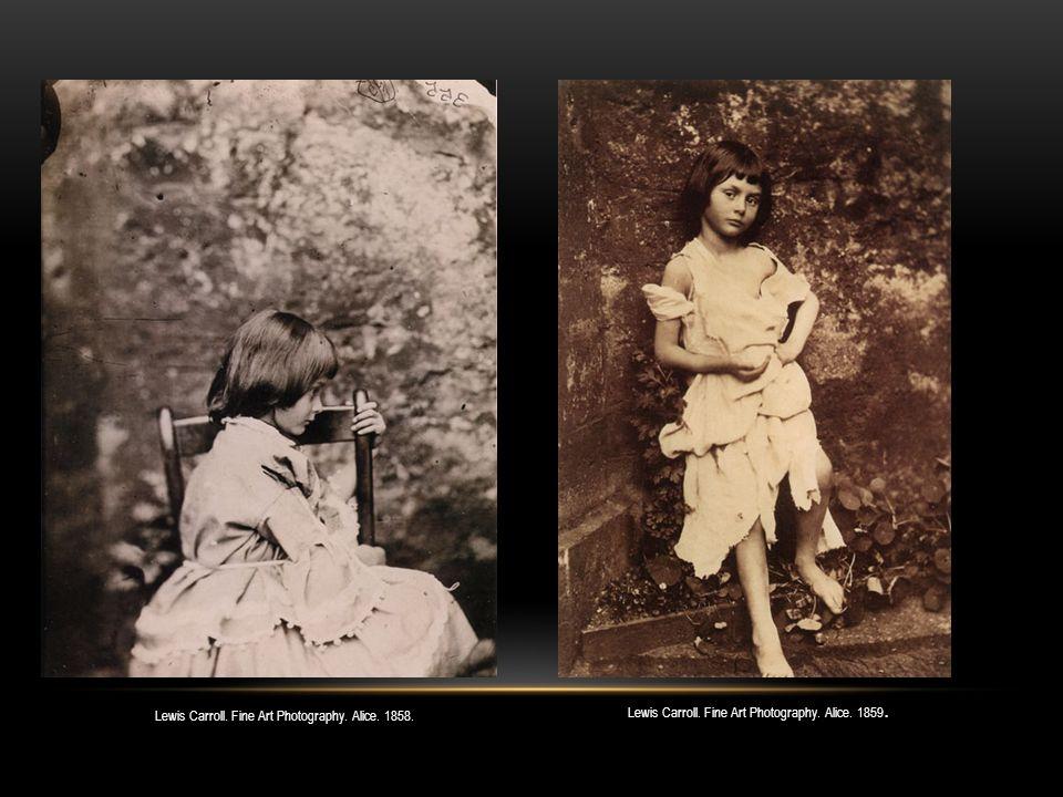 Lewis Carroll. Fine Art Photography. Edith, Lorina and Alice. 1860.
