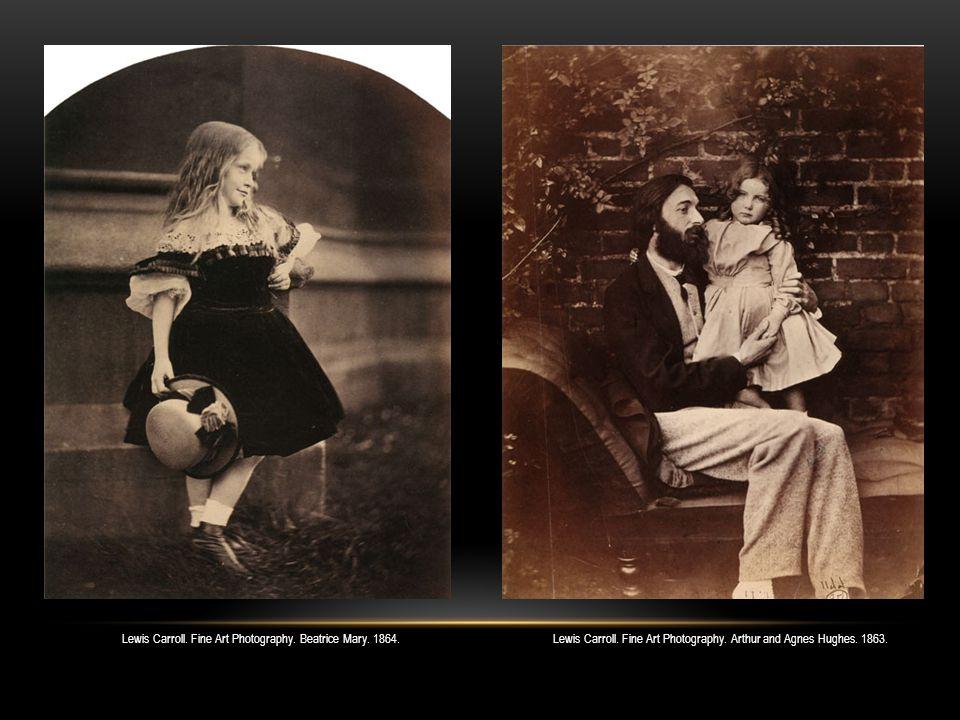 Lewis Carroll. Fine Art Photography. Irene MacDonalds. 1863.
