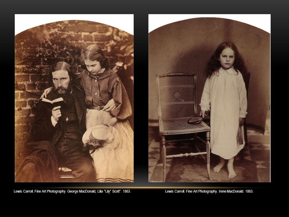 Lewis Carroll. Fine Art Photography. Xie Kitchin. 1873.