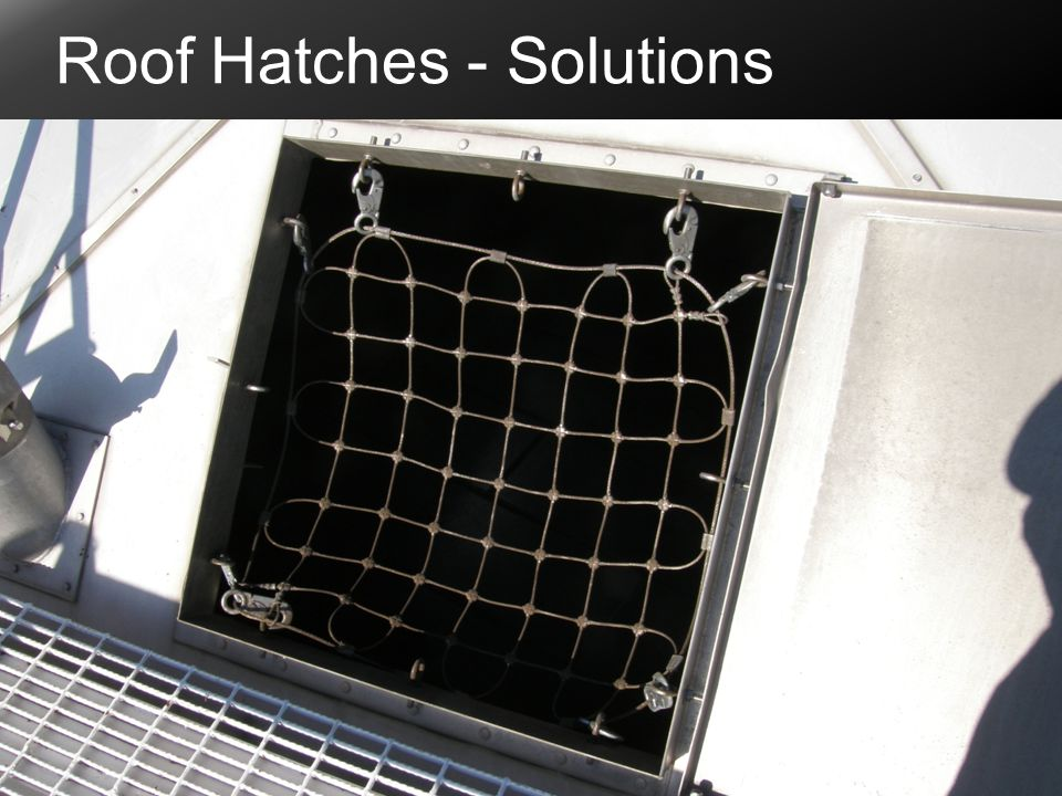 Roof Hatches - Solutions