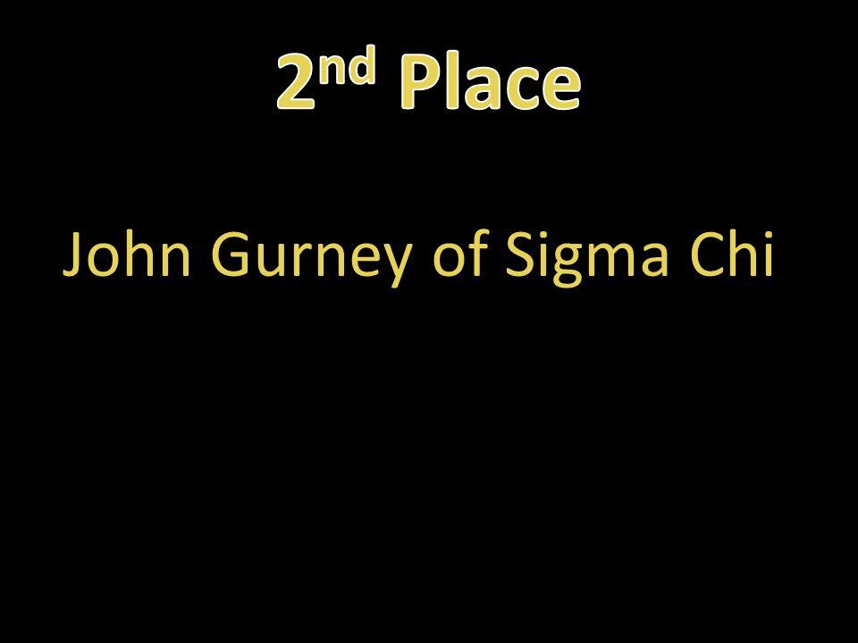 John Gurney of Sigma Chi