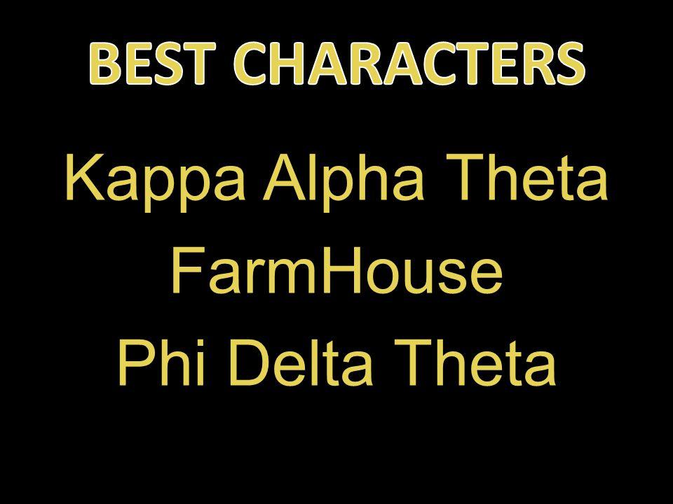 Kappa Alpha Theta FarmHouse Phi Delta Theta